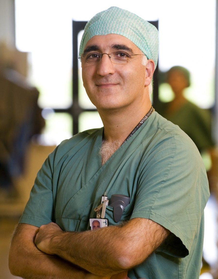 Läkare Hossein Kashani central operationen NÄL 20081009